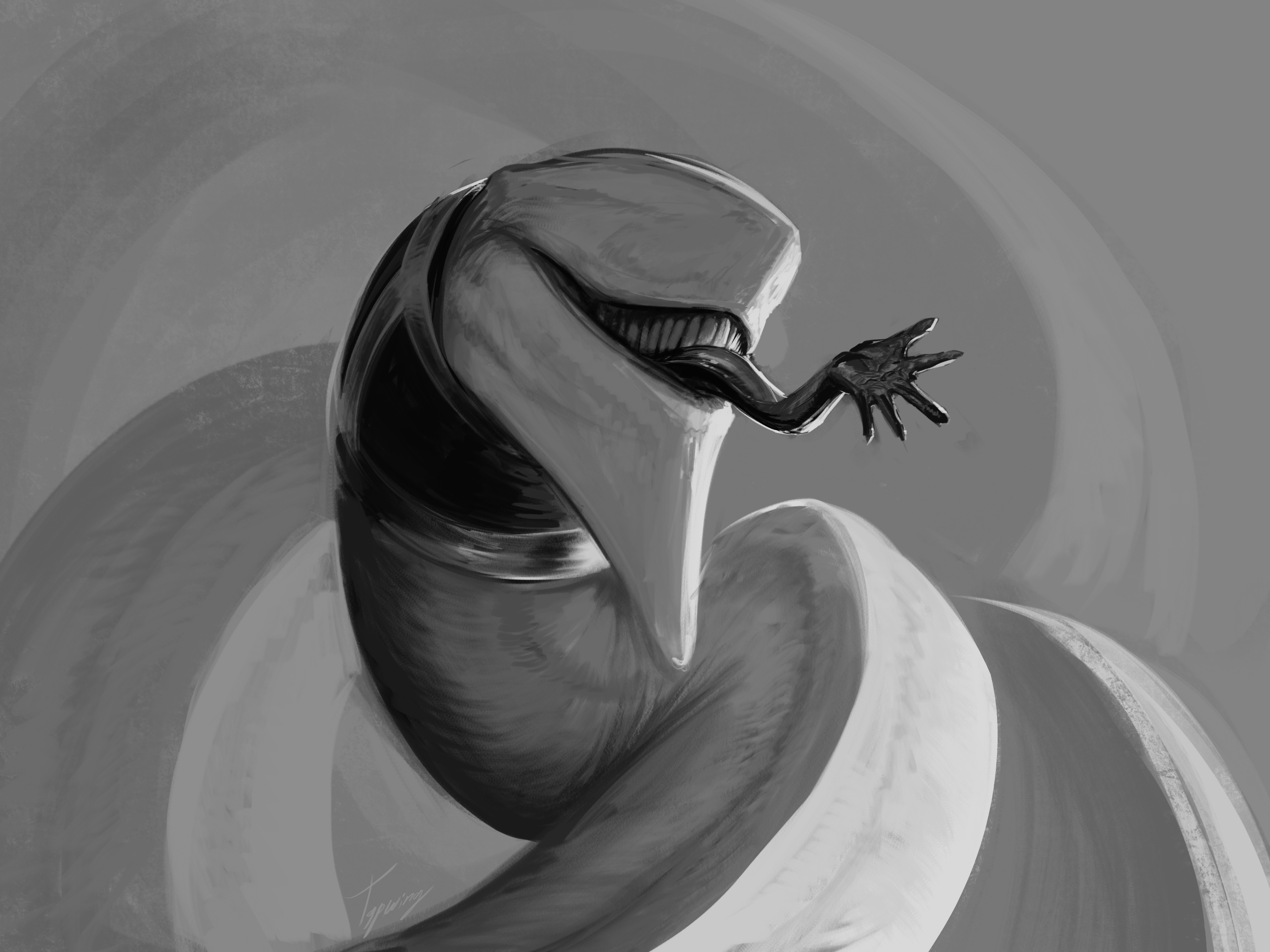 Cottus sketch by Tapwing