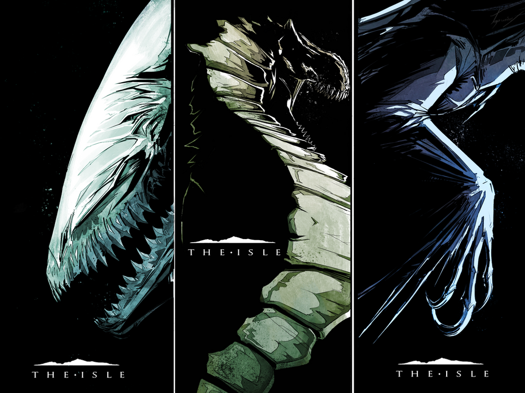 The isle- fan posters by Tapwing