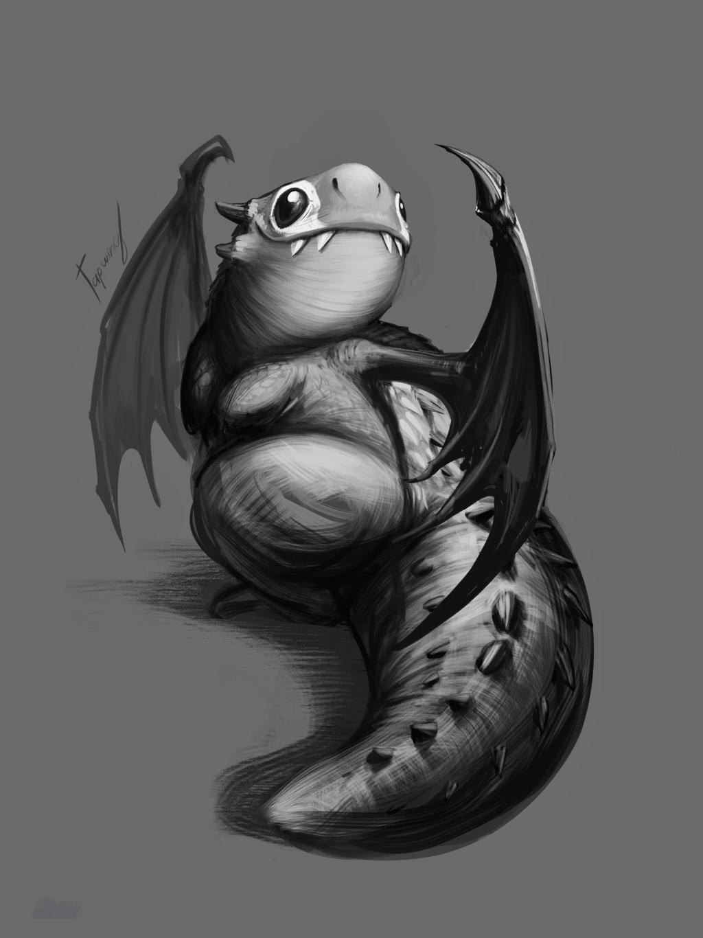Skaarf sketch by Tapwing