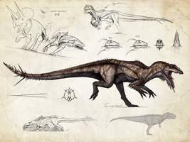 :Tissoplastic giganotosaurus: by Tapwing