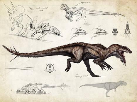 :Tissoplastic giganotosaurus: