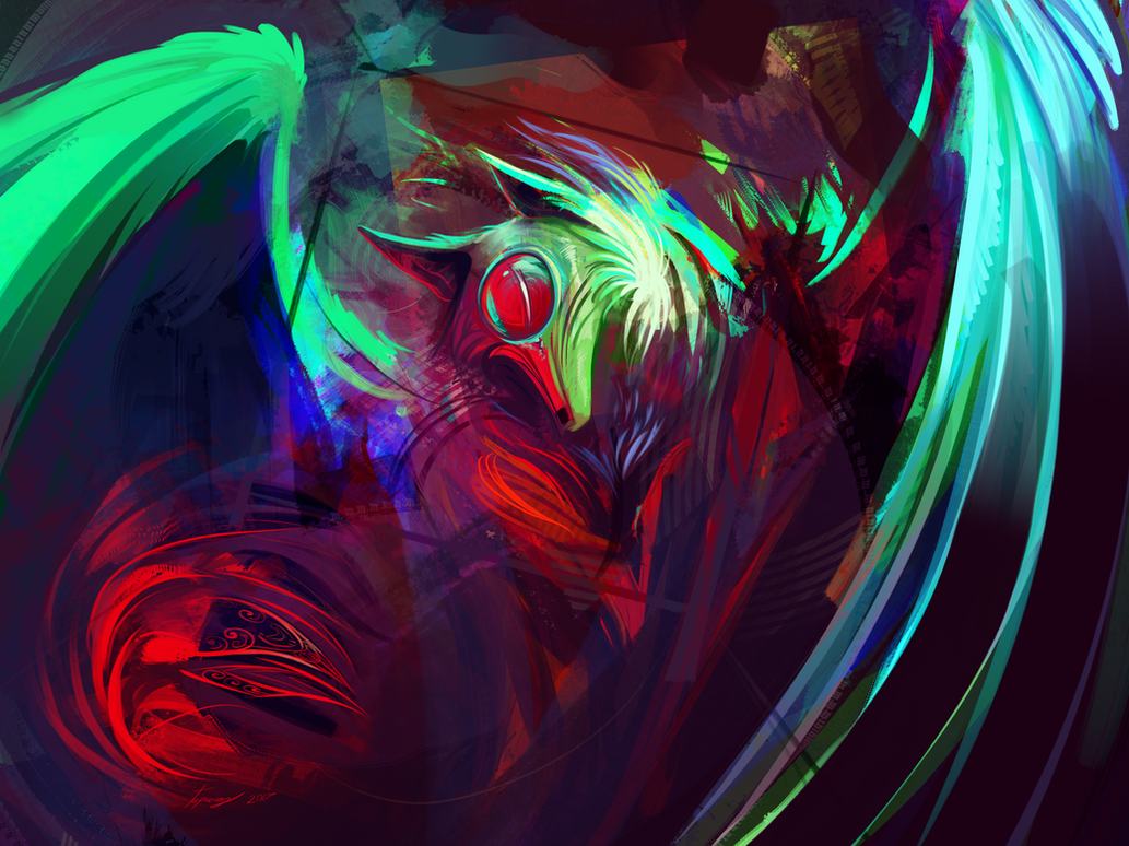 Over vibrant by Tapwing