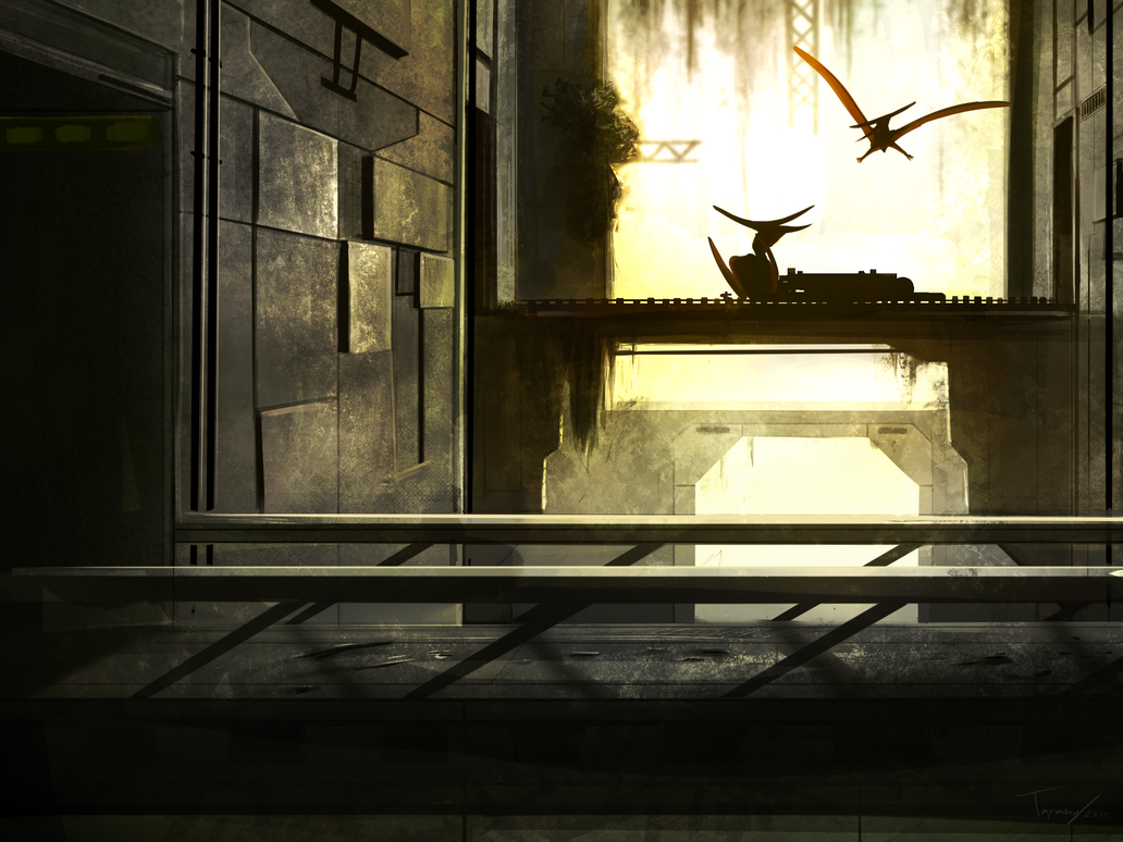 Broken hall by Tapwing