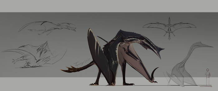 Hyperendocrin quetzalcoatlus V3