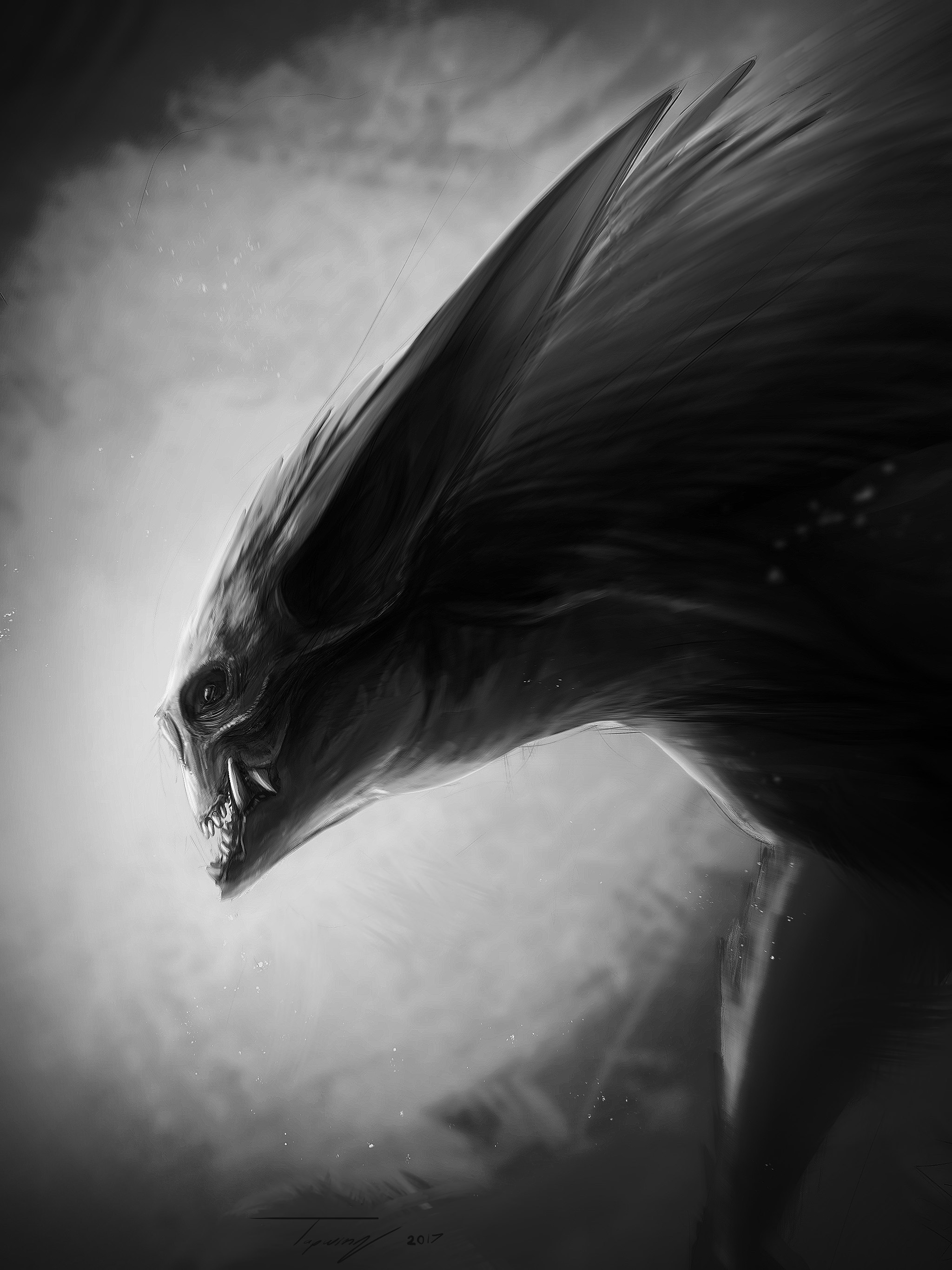 Grey reaper by Tapwing