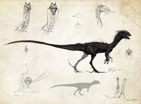 :Tissoplastic Dilophosaurus: