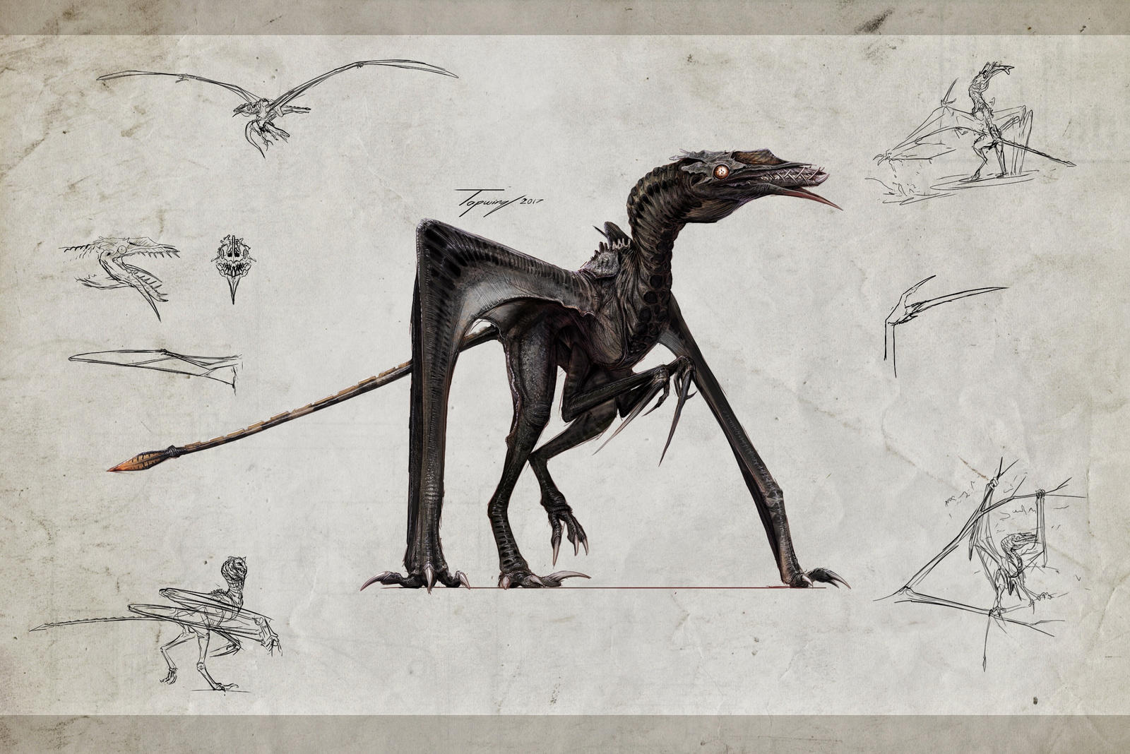 :Pterosauros matriarch: by Tapwing