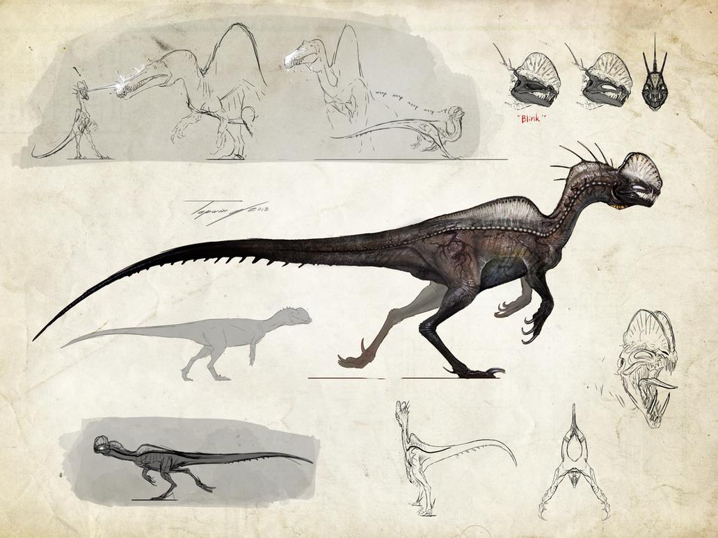 :Neurotenic Dilophosaurus: by Tapwing