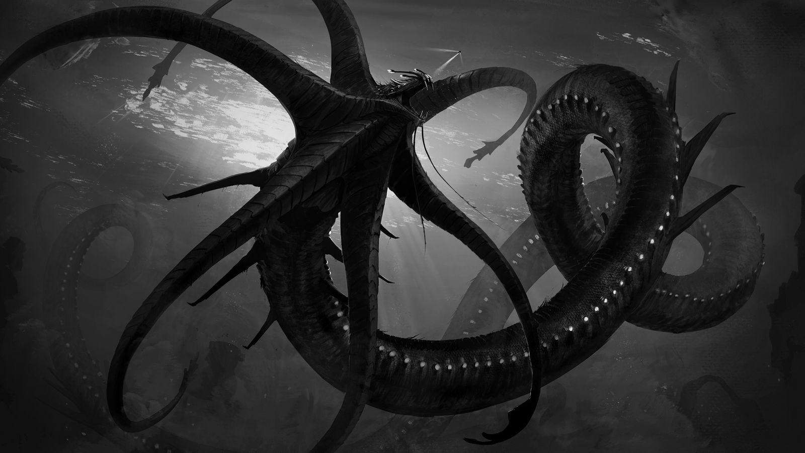 Gargantuan Leviathan :commission: by Tapwing