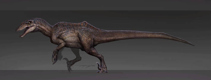 Reimagined Spinoraptor by Tapwing