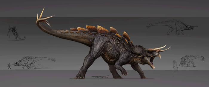 Reimagined Stegoceratops