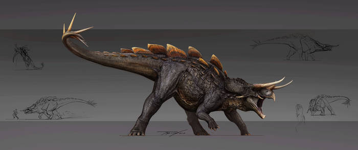 Reimagined Stegoceratops