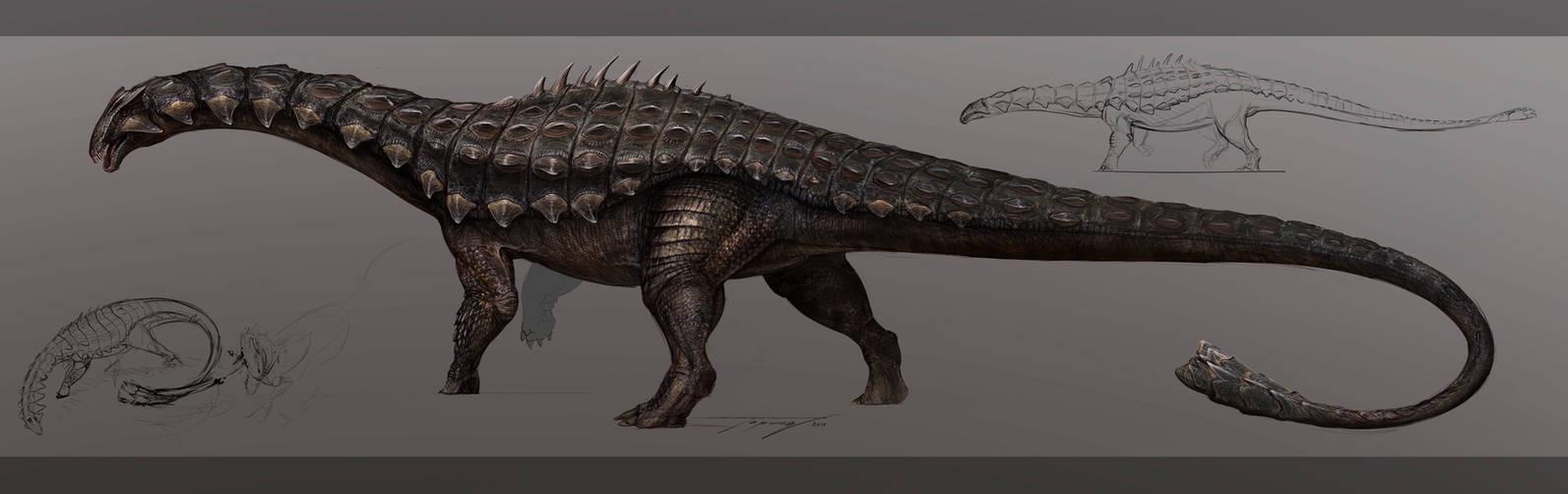 Reimagined Ankylodocus