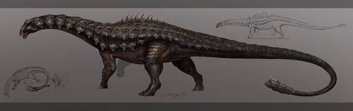 Reimagined Ankylodocus by Tapwing