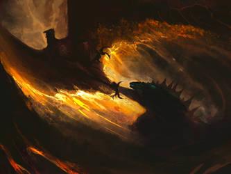 Monstermarch 2020- Godzilla and Rodan