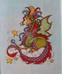 Baby Dragon Birth Sampler.