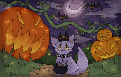 spooky pumpkins by quietfang