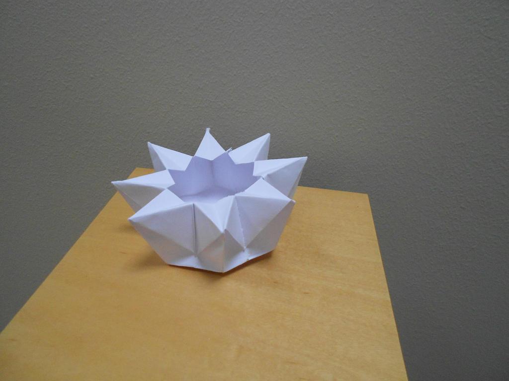Origami 8 Pointed star box by Maxamillano on DeviantArt - photo#14