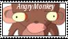 Angry Monkey by MaxxLava
