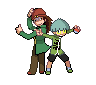 Rex and Weevil Sprites by xxskitten