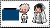 Smoker and  Tashigi Stamp by MellcatNinA