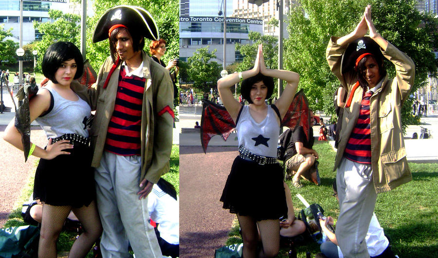 A Pirate and a loyal Demoness by Negalmuur ... & A Pirate and a loyal Demoness by Negalmuur on DeviantArt