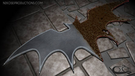 Character Themed Batman Logo: Two-Face ver