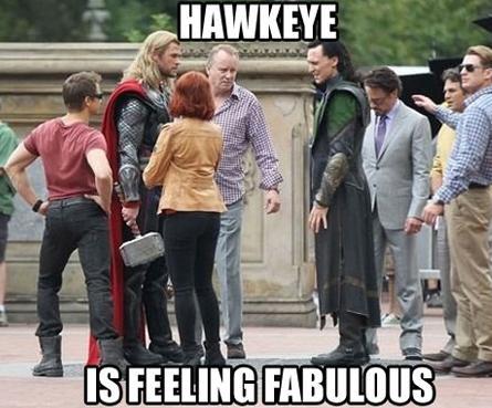 Fabulous Hawkeye by Chrisily