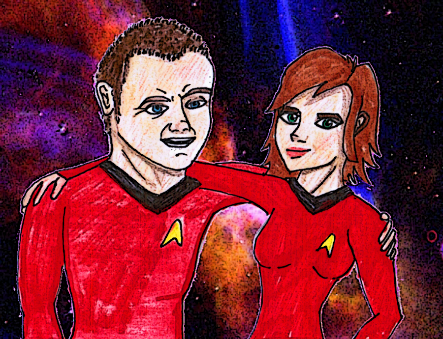 Trekkin' Together by Chrisily