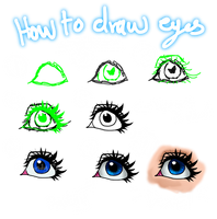How To Draw Eyes Tutorial (Re-done) by Chrisily