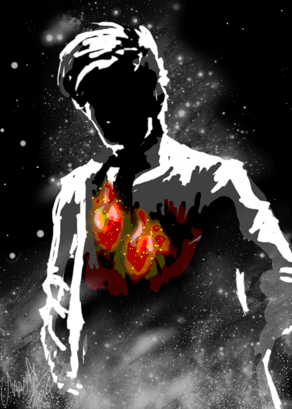 11th Doctor Poster (No text) by Chrisily