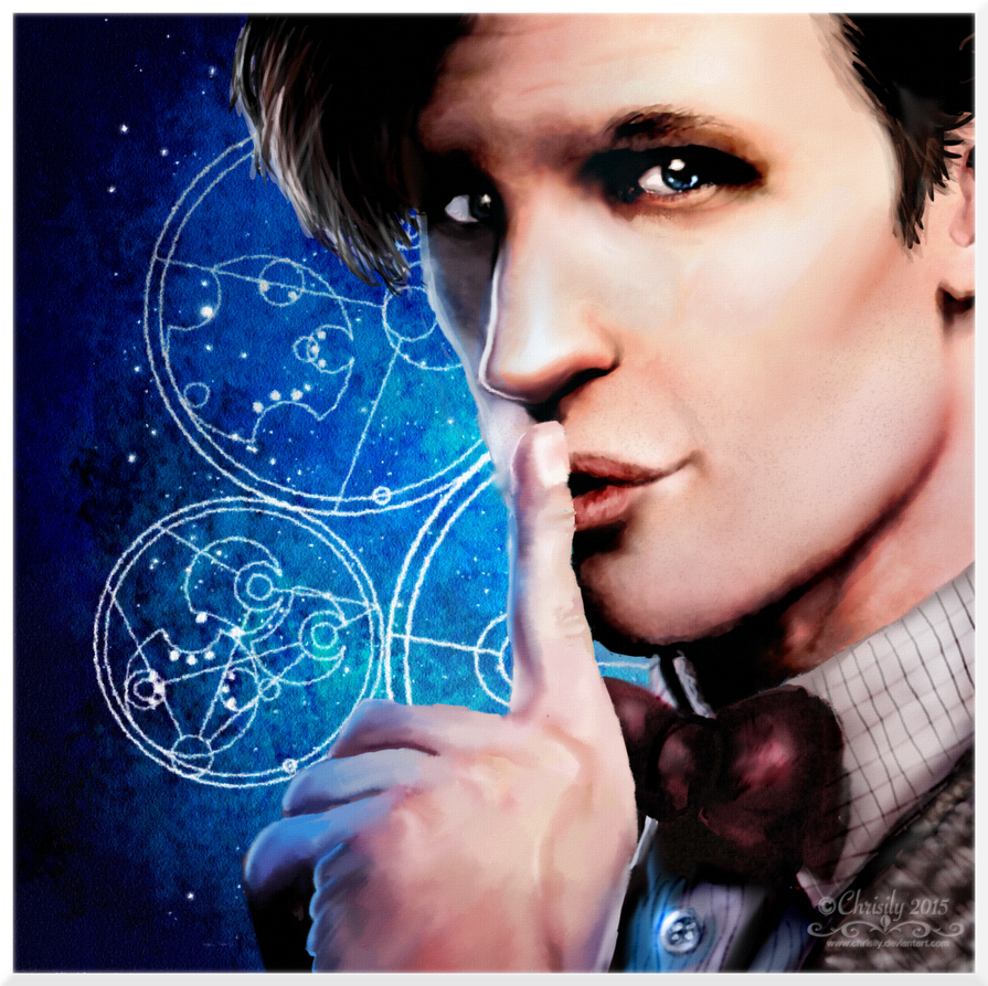 The Eleventh Doctor by Chrisily