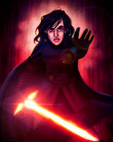 Supreme Leader Kylo Ren by Chrisily