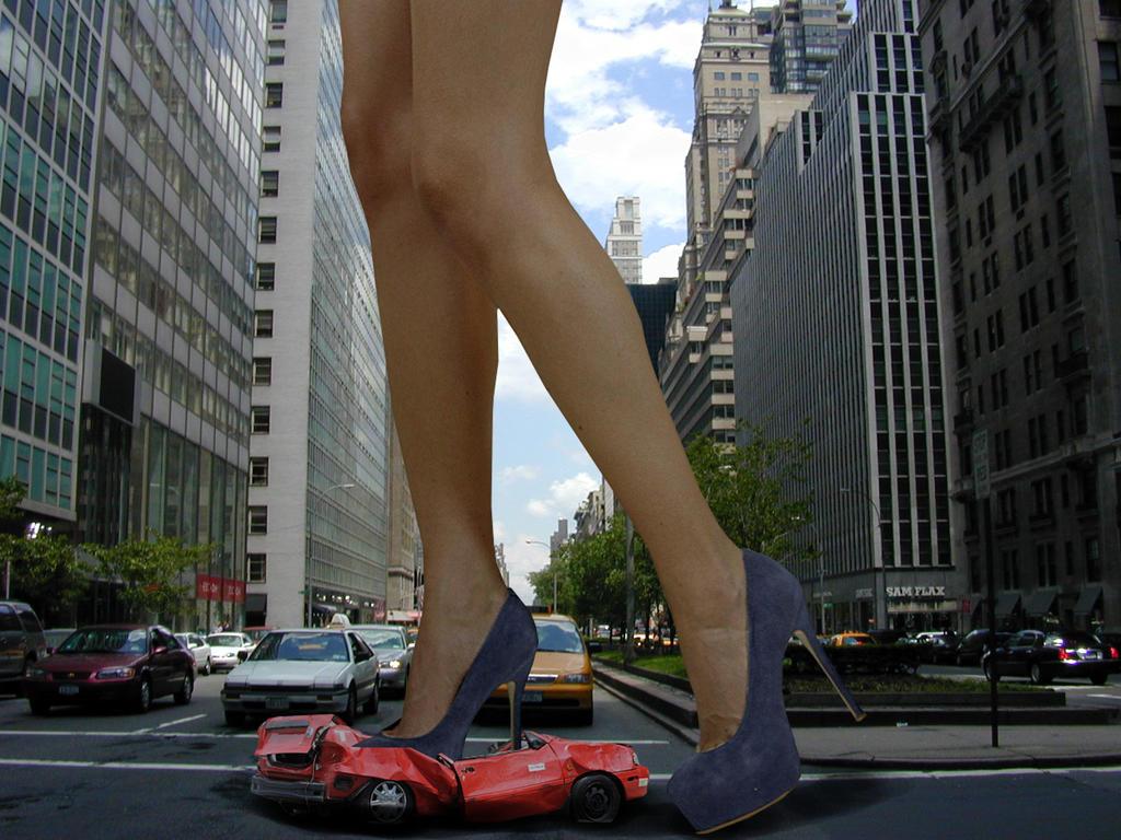 Giantess crushing army men in high heel platform shoes crush 4
