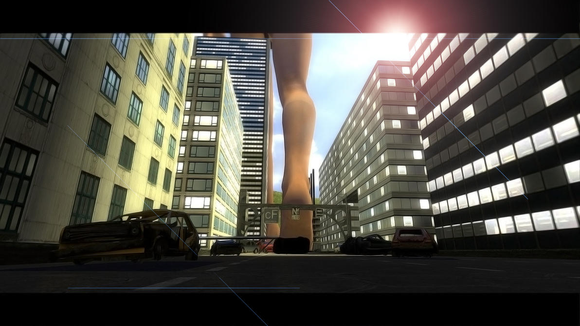 Giantess gmod in shower erotic video