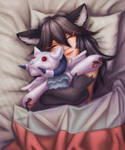In bed [finished ych]