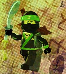 Green Ninja by selom13