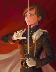 Lady-commander by wolf118