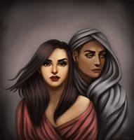 Rima and Kuuna - Commission by Manuzan