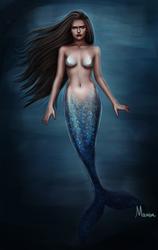 Deep In The Sea by Manuzan