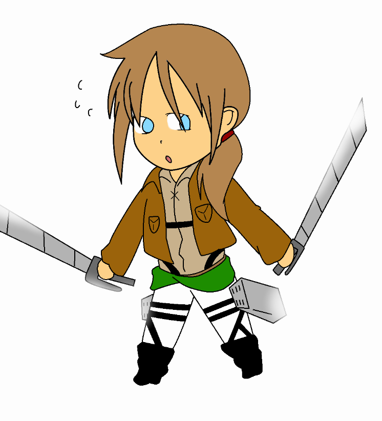 Attack On Titan OC Marie Rivera By Shadowfanchick On