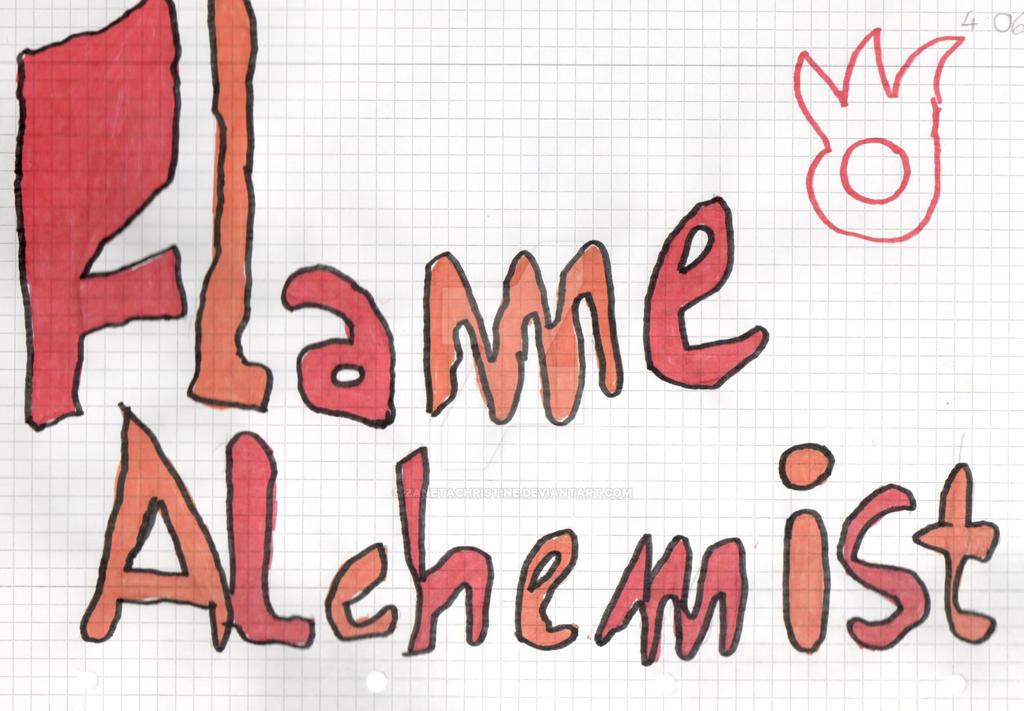 Flame Alchemist by ZanetaChristine