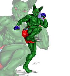 Zapedy's ready to kick ya by TEMPHUiBIS