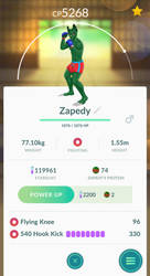 Zapedy in Pokemon Go? Try and catch him by TEMPHUiBIS