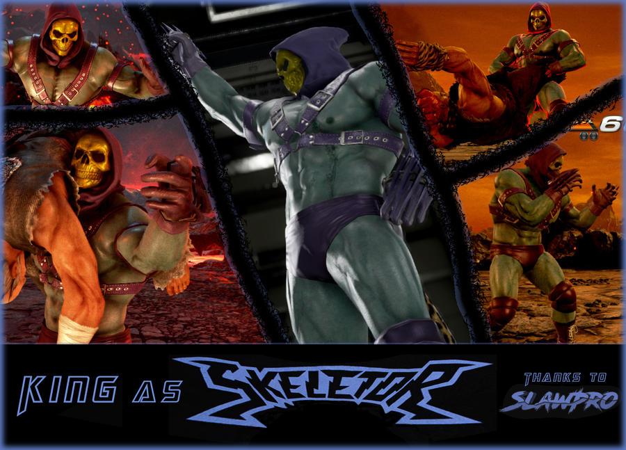 King as Skeletor by TEMPHUiBIS