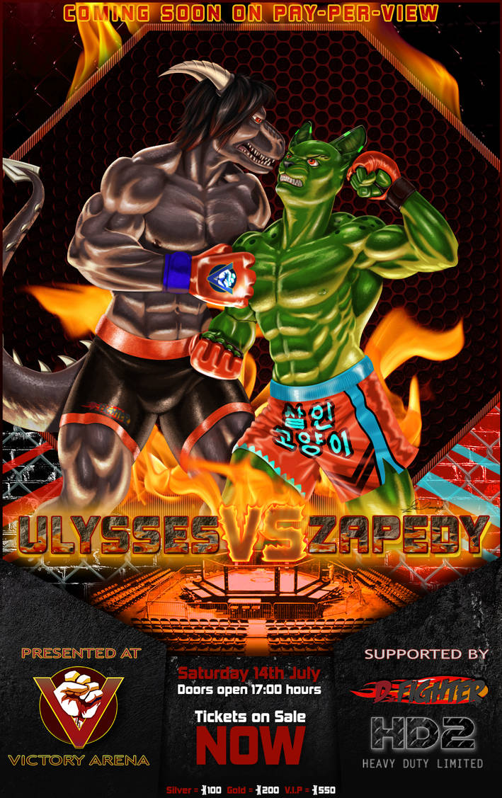 Ulysses Vs Zapedy poster by TEMPHUiBIS