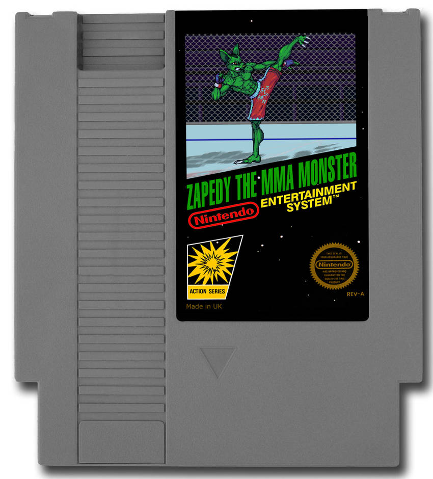 Zapedy on NES Cover by TEMPHUiBIS