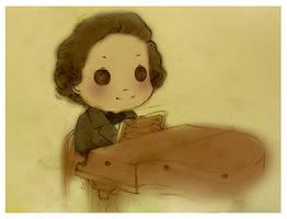 Chopin by azurecorsair