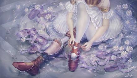 Iberis-Ballet dancer with artificial leg by AZLL