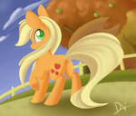 Regular Pony Drawing #1 - Applejack